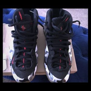 """Nike Air Foamposite One PRM """"Fighter Jet"""""""
